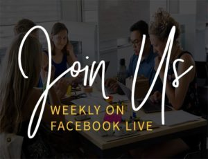 Join Us On Facebook Live